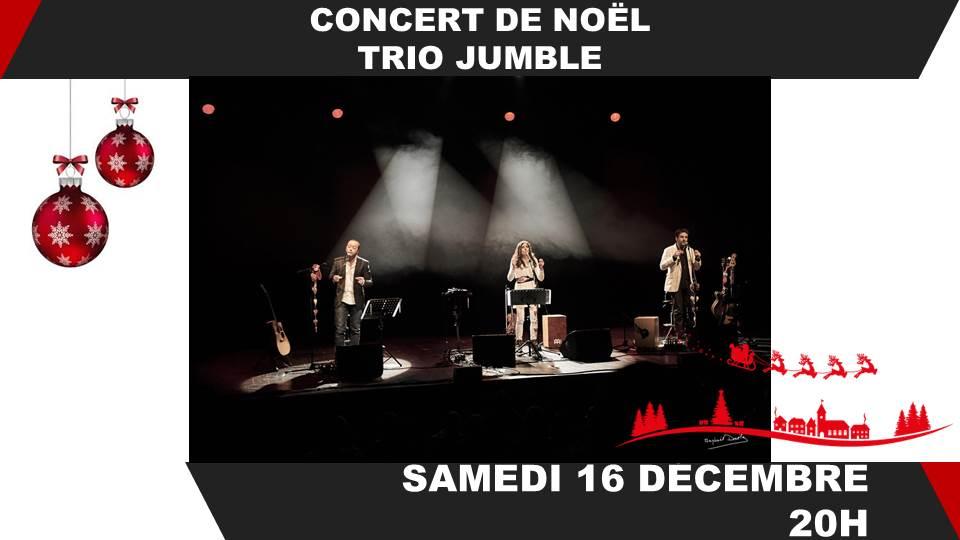 Concert de Noël avec Jumble Trio