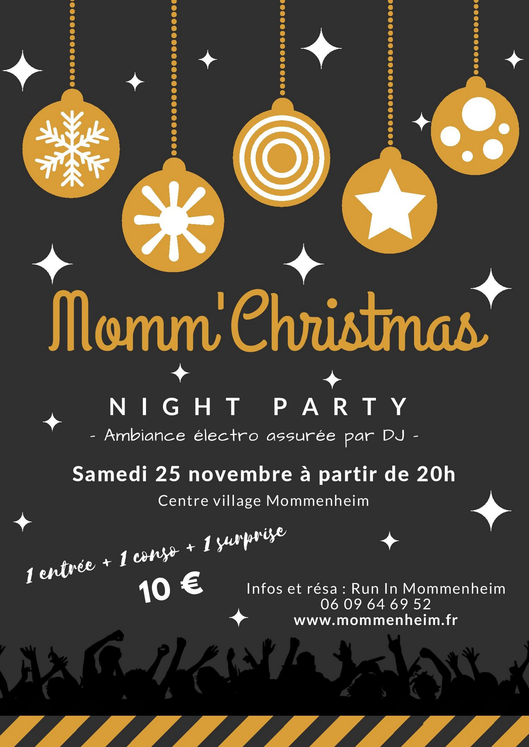 Momm'Christmas Night Party
