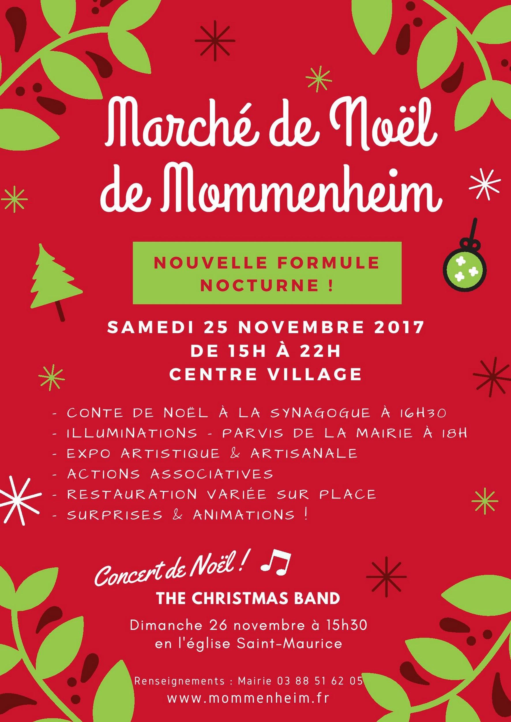 Marché de Noël de Mommenheim