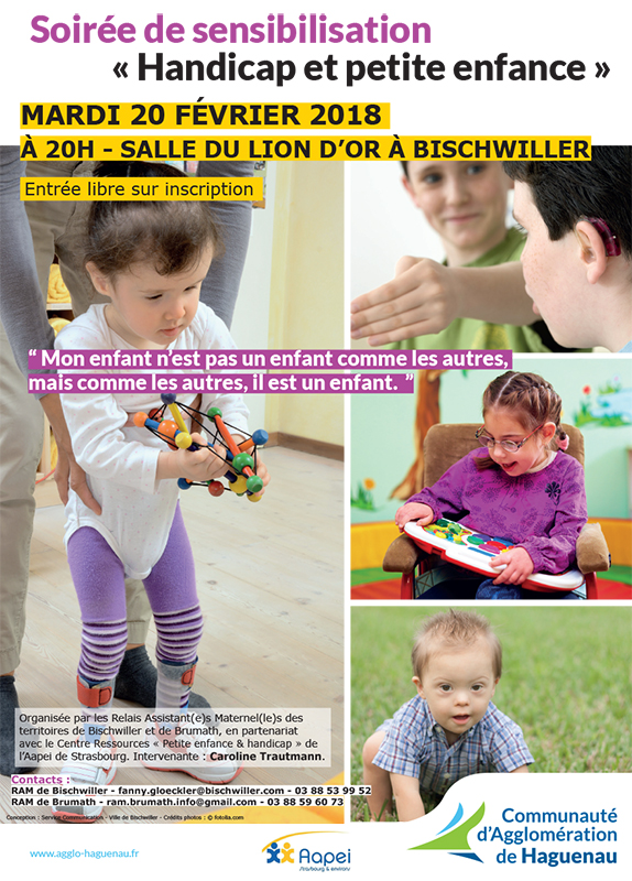 Soirée de sensibilisation « Handicap et petite enfance »