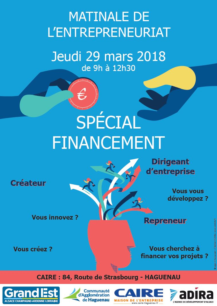 Matinale de l'entrepreneuriat – Spécial financement