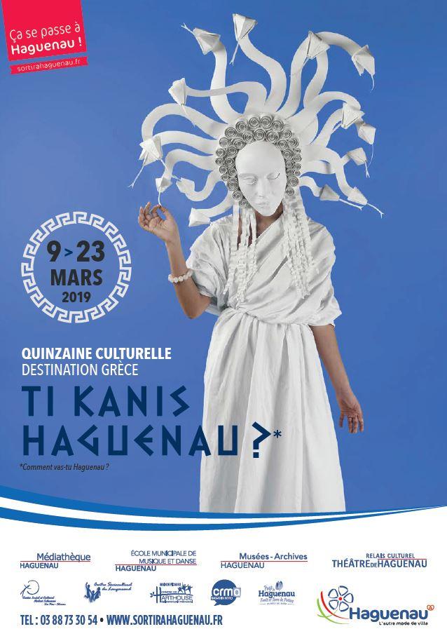 Quinzaine Culturelle «Ti kanis haguenau ?»