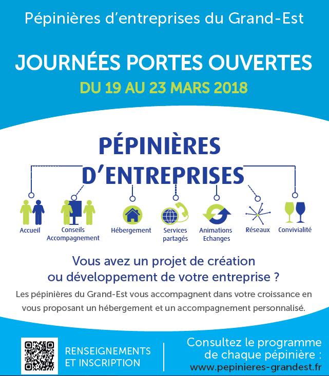 Journées Portes ouvertes de la Pépinière d'Entreprises du CAIRE