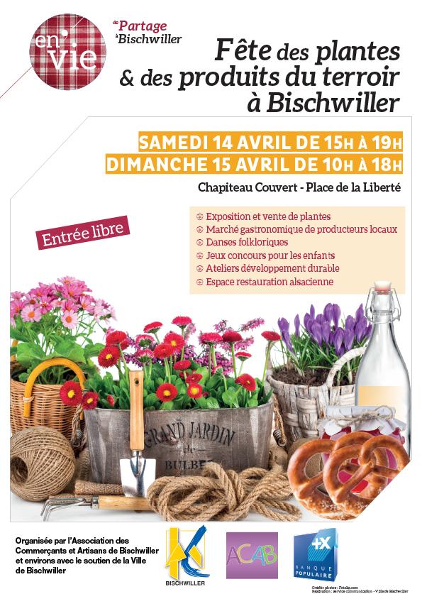 Fête des plantes & des produit du terroir à Bischwiller
