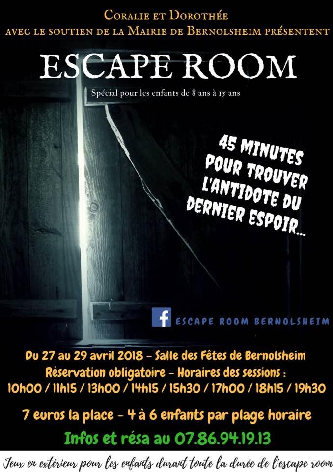 Escape Room spécial enfants