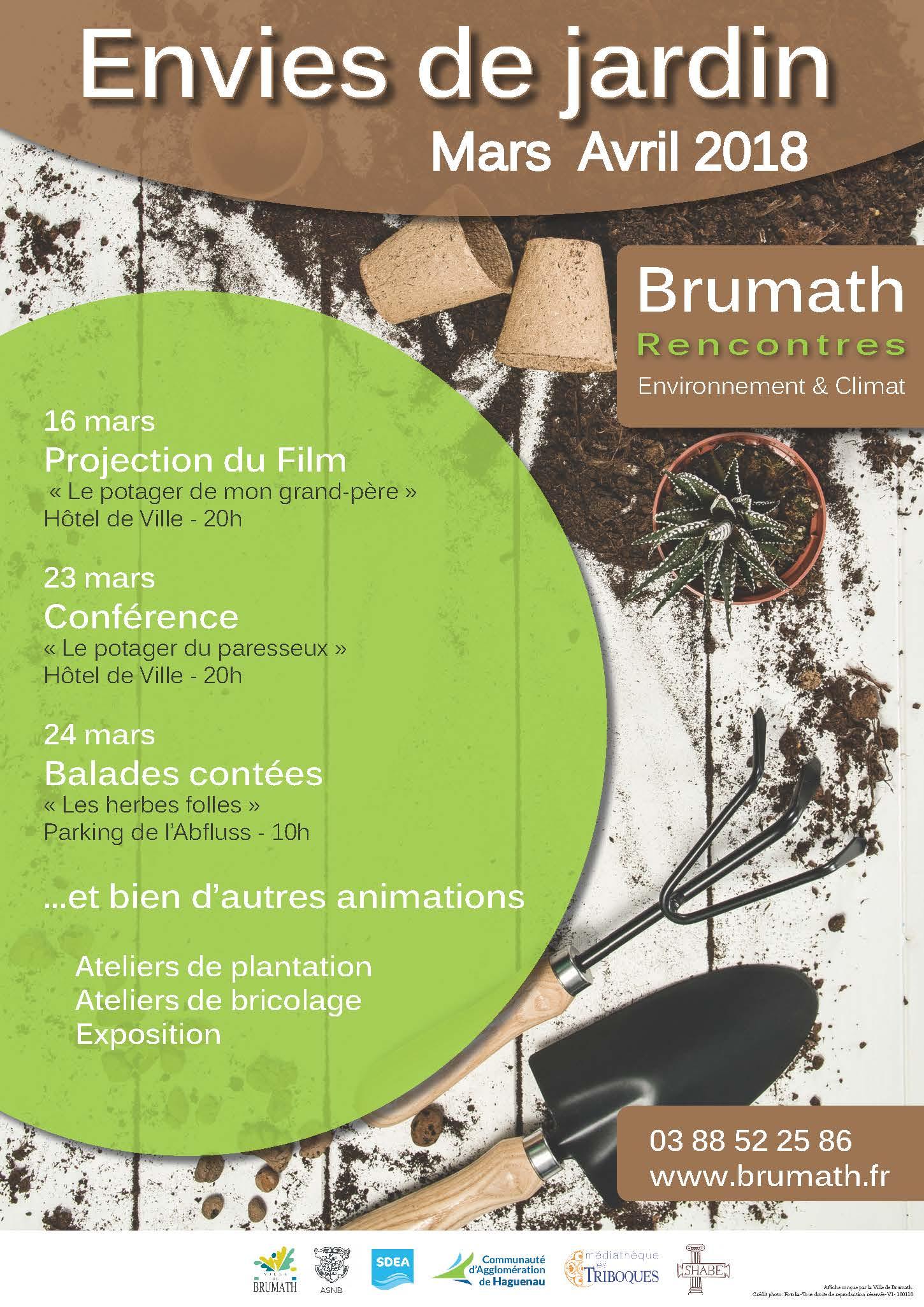 Brumath rencontres environnement & climat: envies de jardin