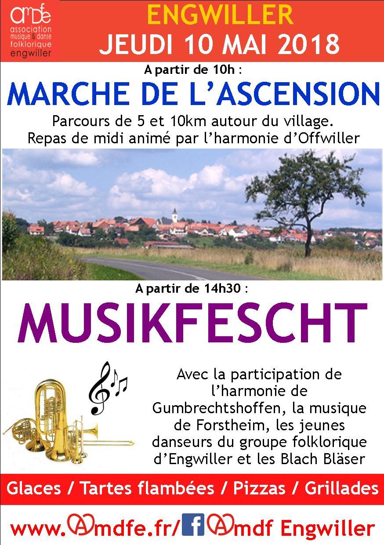 Musikfescht et Marche de l'Ascension