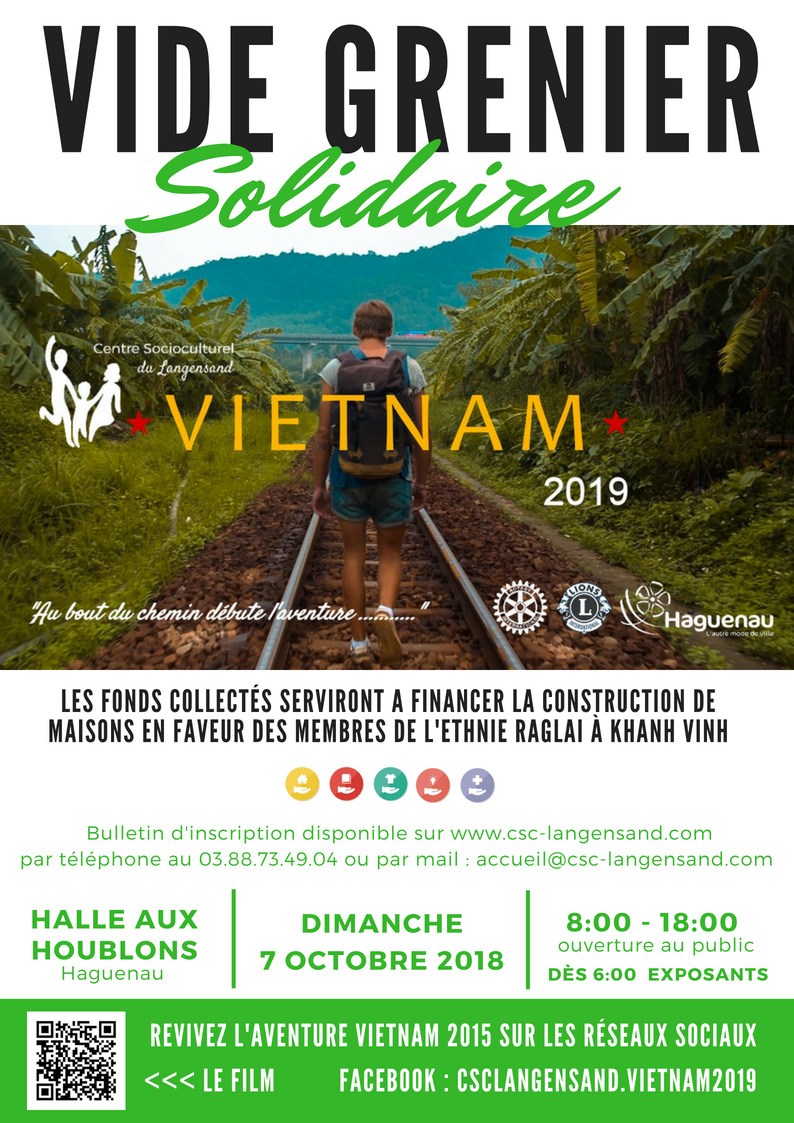 Vide Grenier Solidaire – CSC Langensand