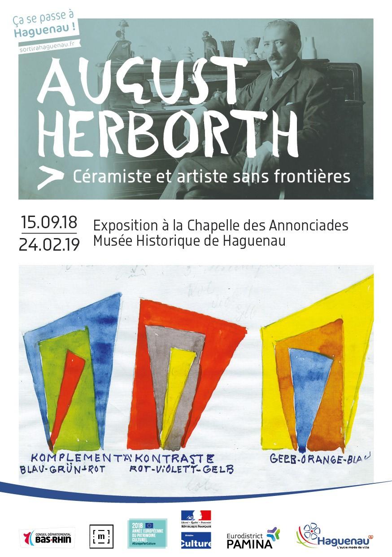 Exposition August Herborth, céramiste et artiste sans frontières