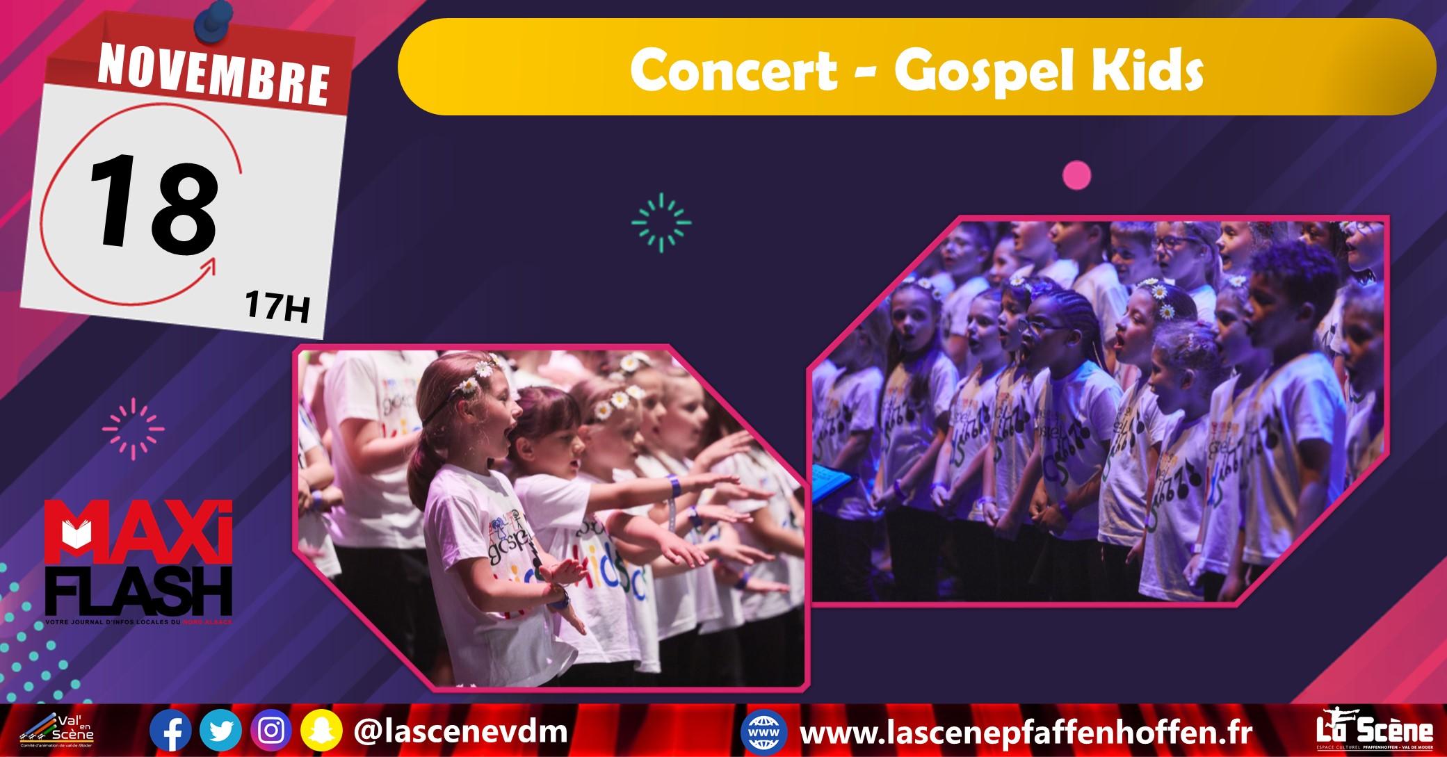 Gospel Kids – Concert