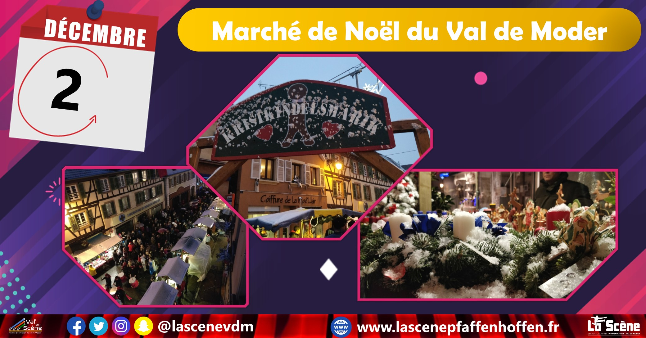 Marché de Noël du Val de Moder