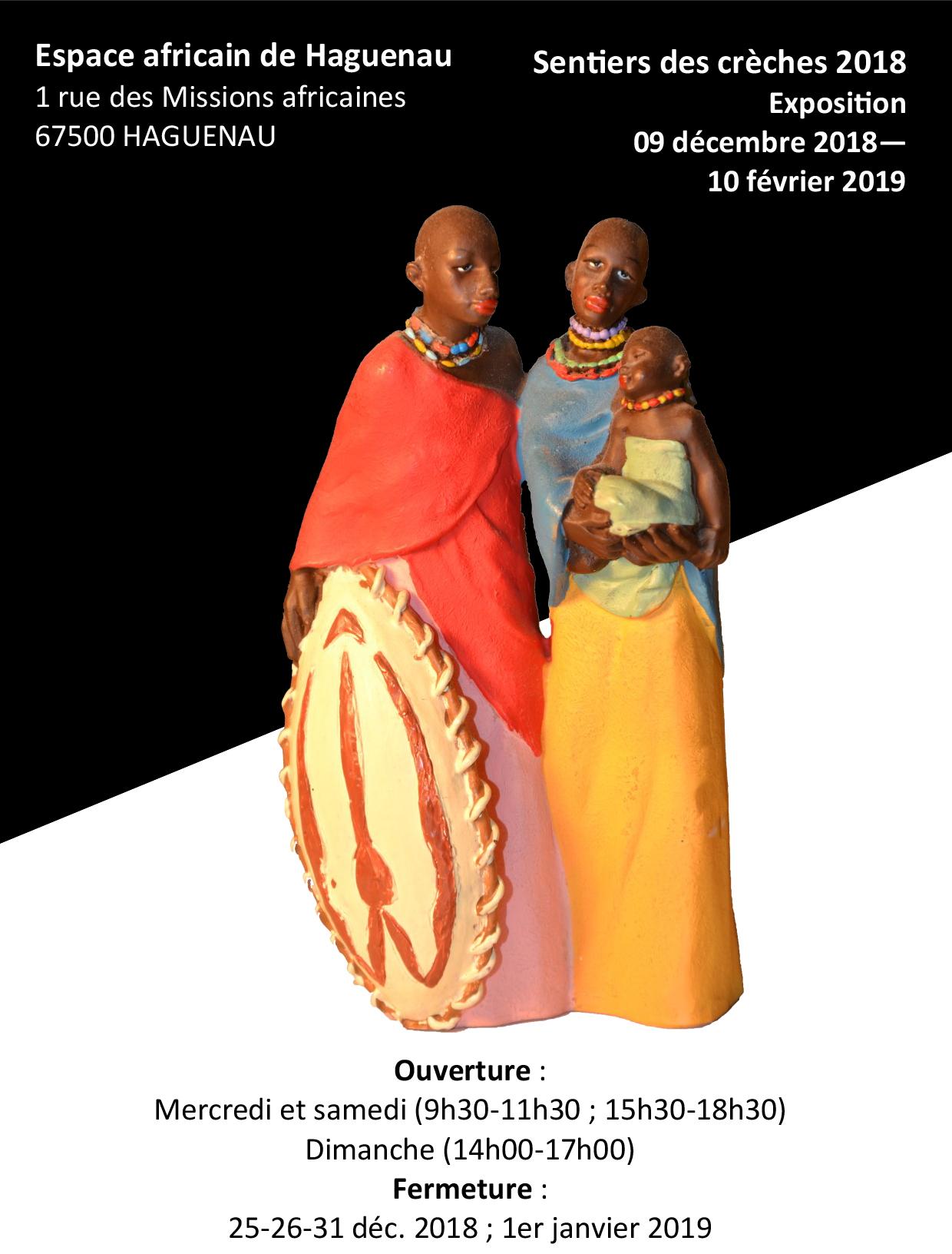 «Les crèches du soleil», exposition des crèches africaines.