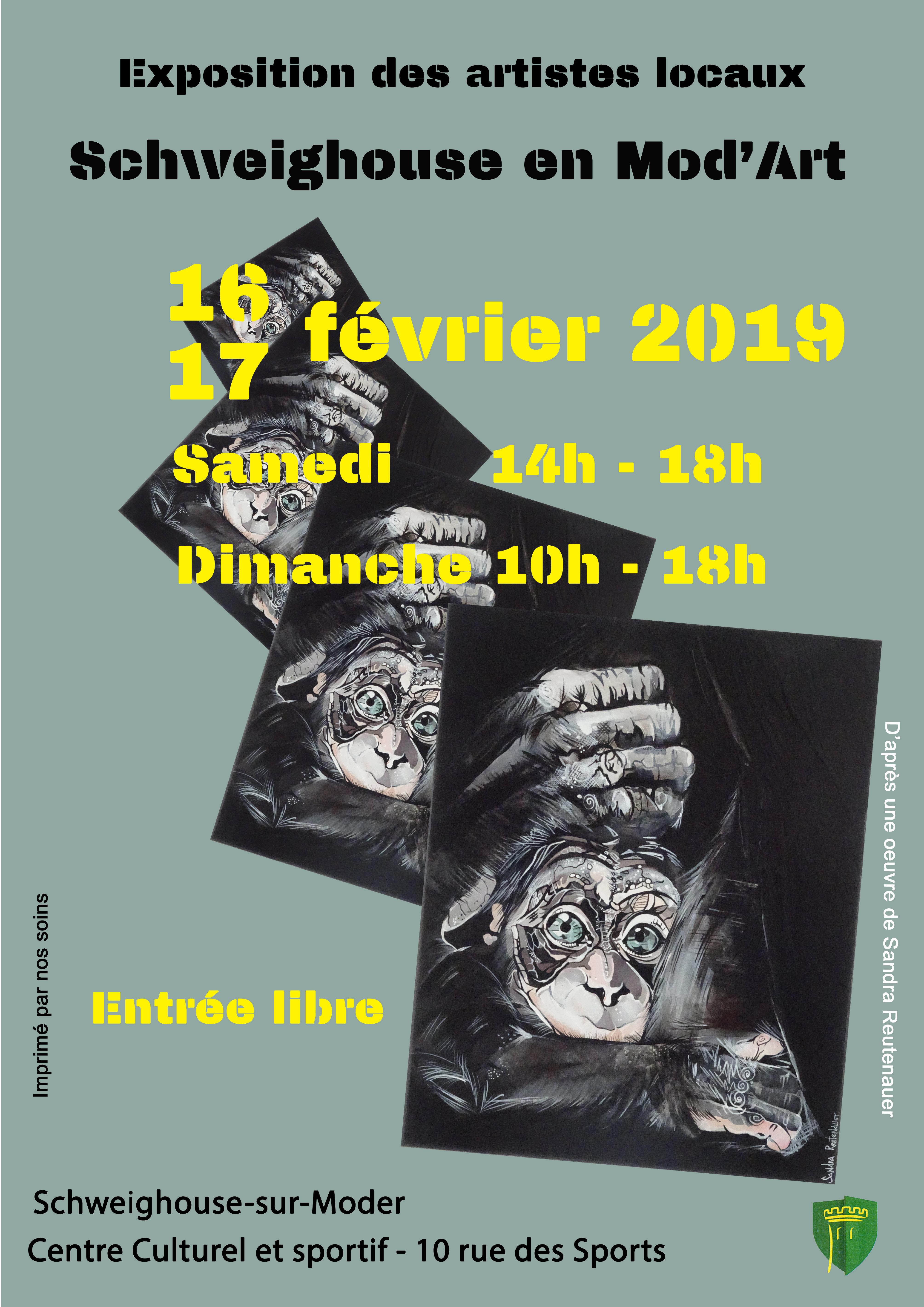 Exposition «Schweighouse en Mod'Art»