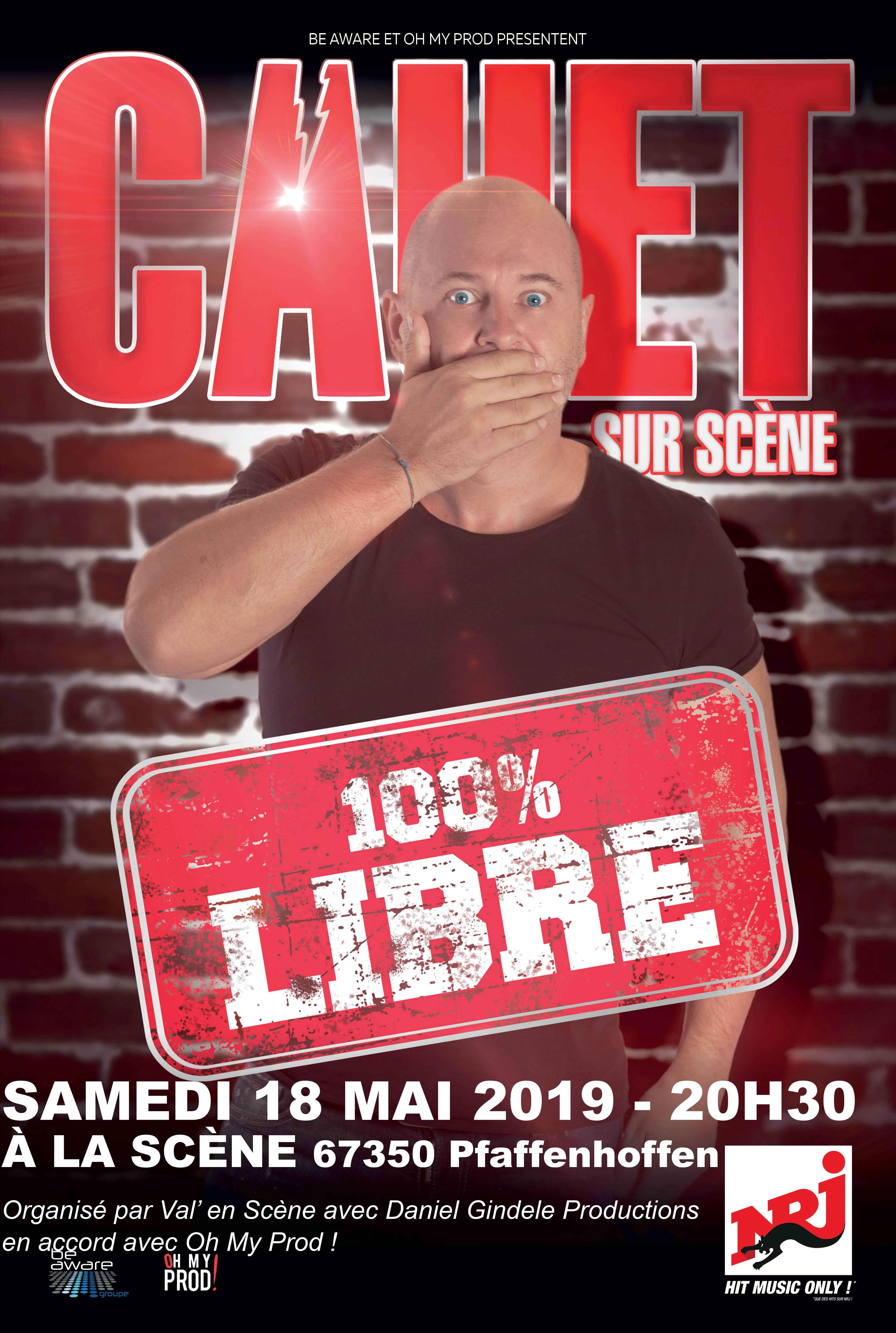 Cauet – 100% Libre