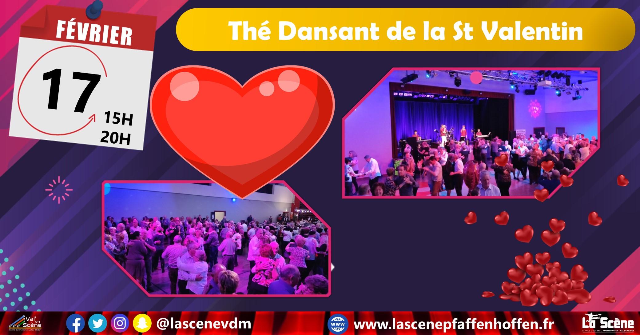 Thé dansant ST valentin / Santa Rosa