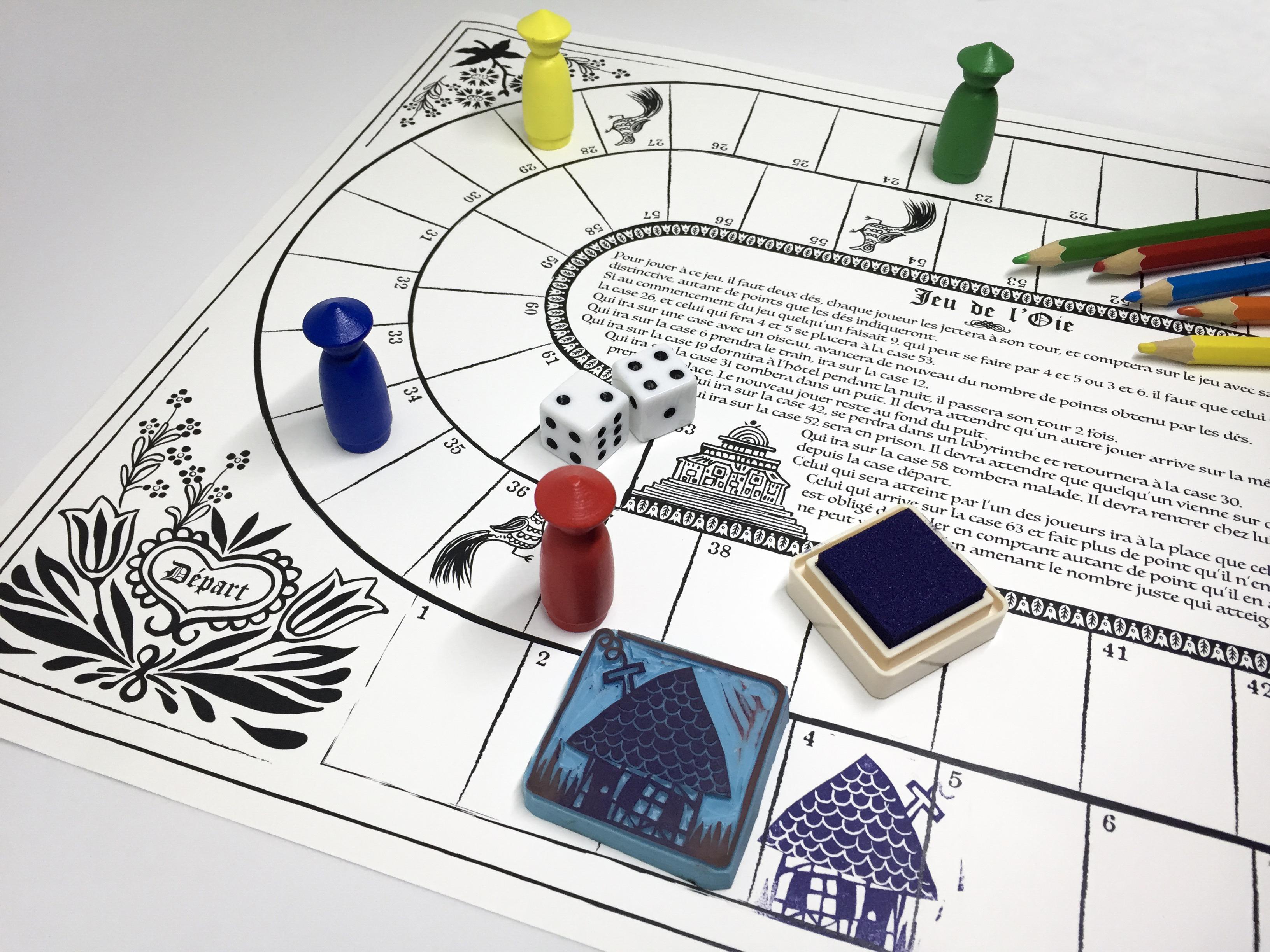 Amuse-Musées : Atelier «le jeu du voyage» avec PouicPouic Box