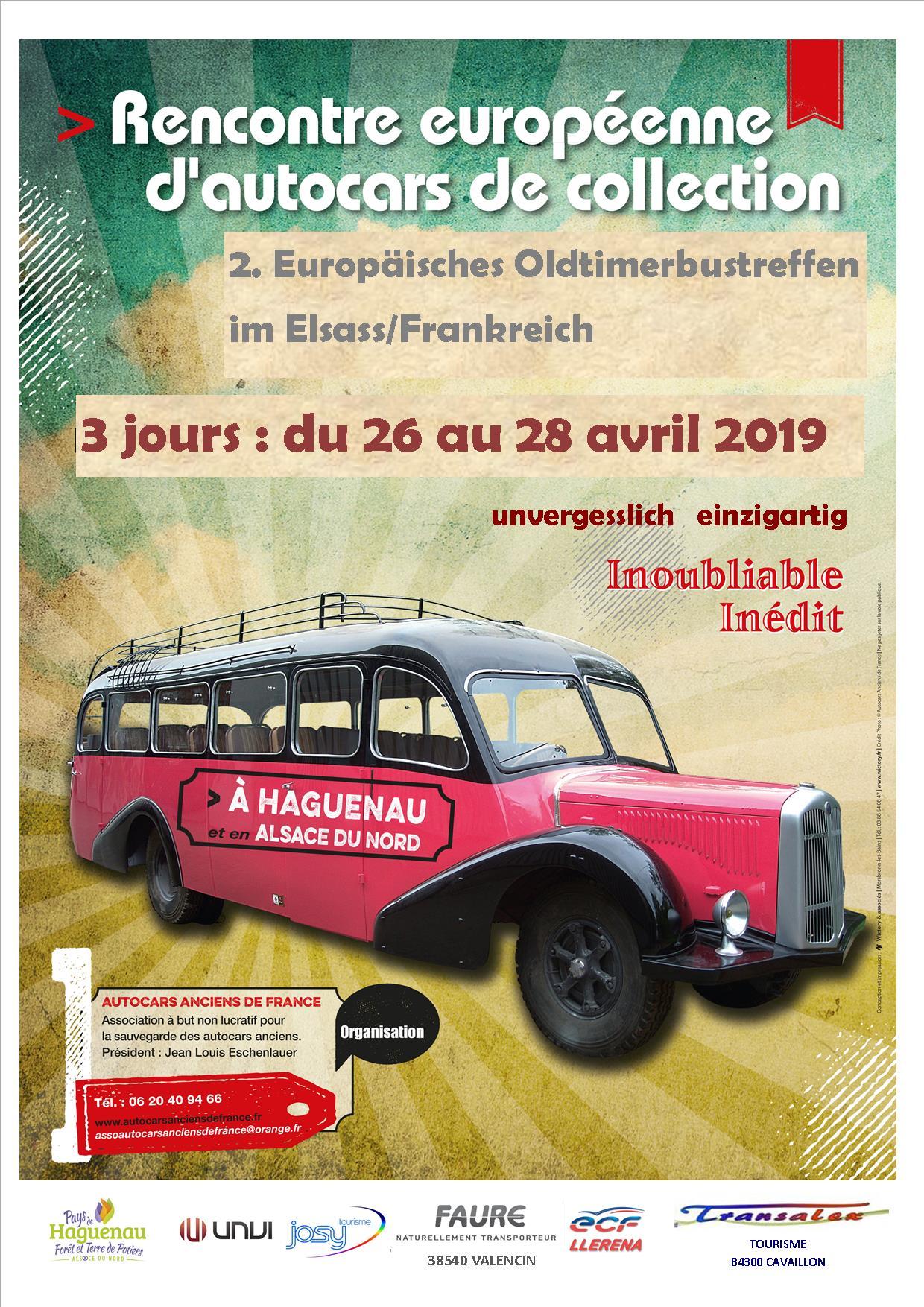 Rencontre Européenne d'Autocars de collection