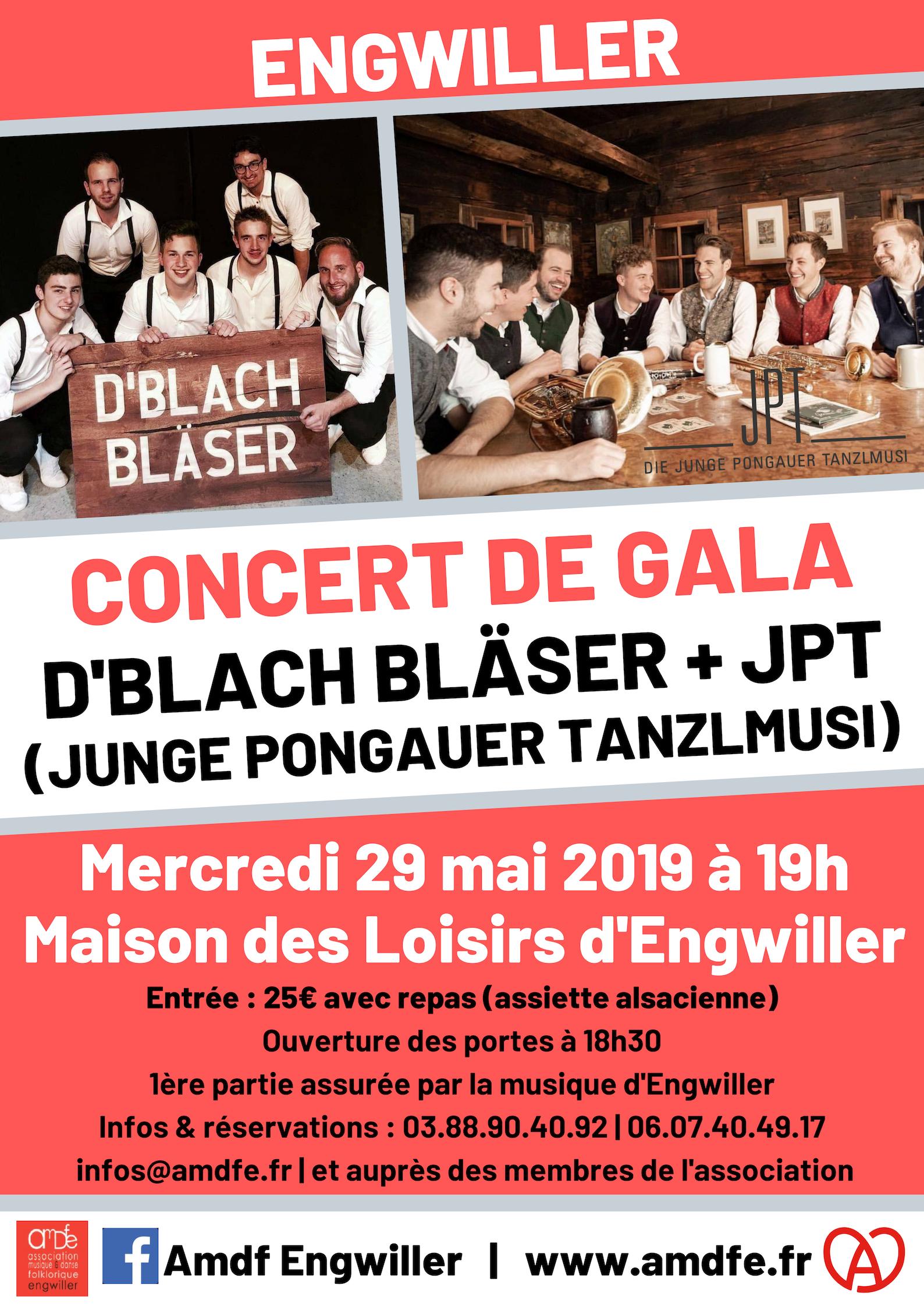 Concert de gala : Blach Bläser + JPT
