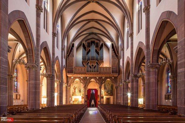 Visite guidée de l'orgue de la Basilique de Marienthal