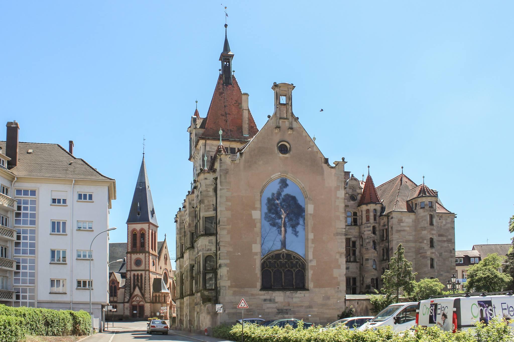 Visite guidée de l'extérieur du Musée Historique