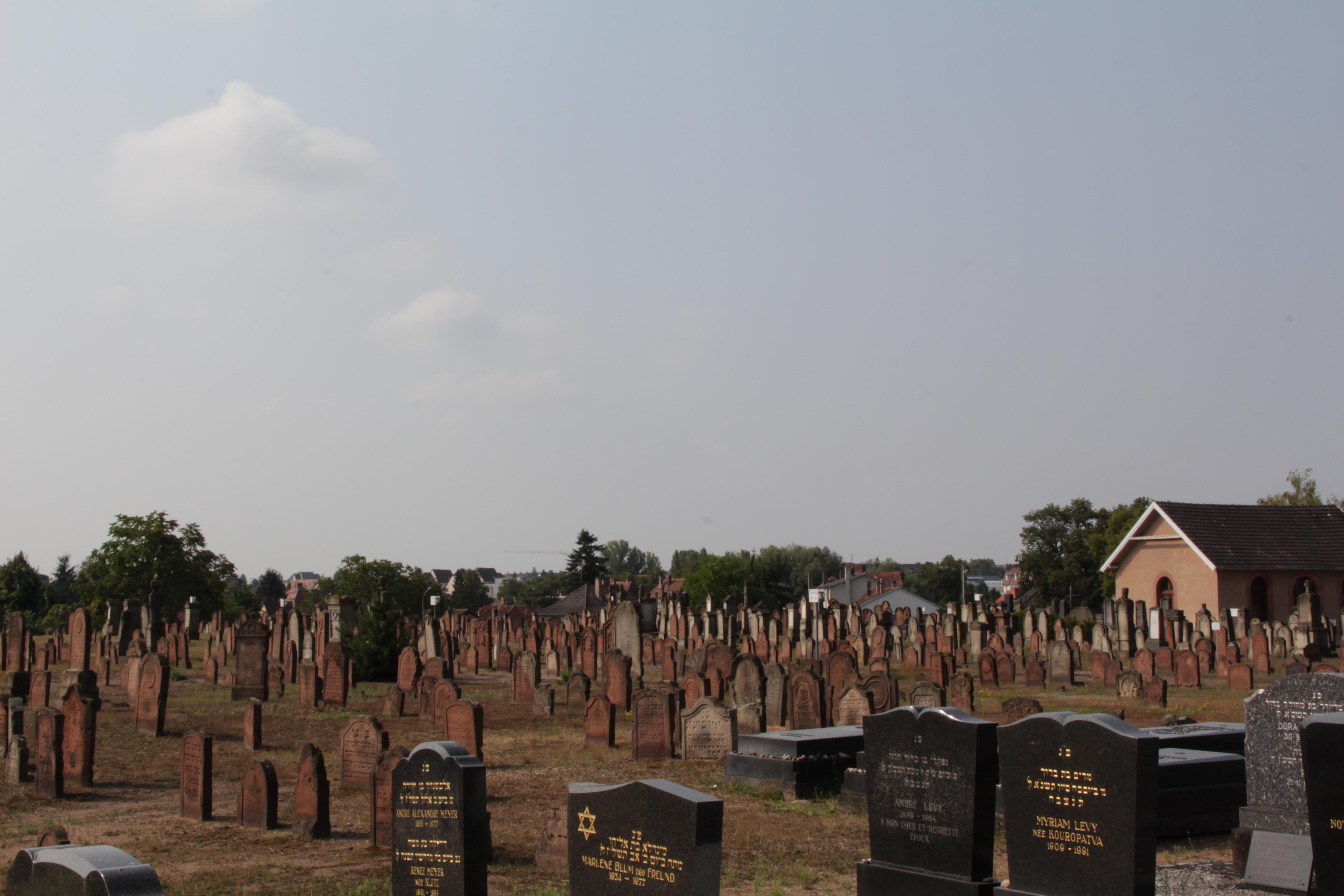Visite guidée du cimetière juif de Haguenau