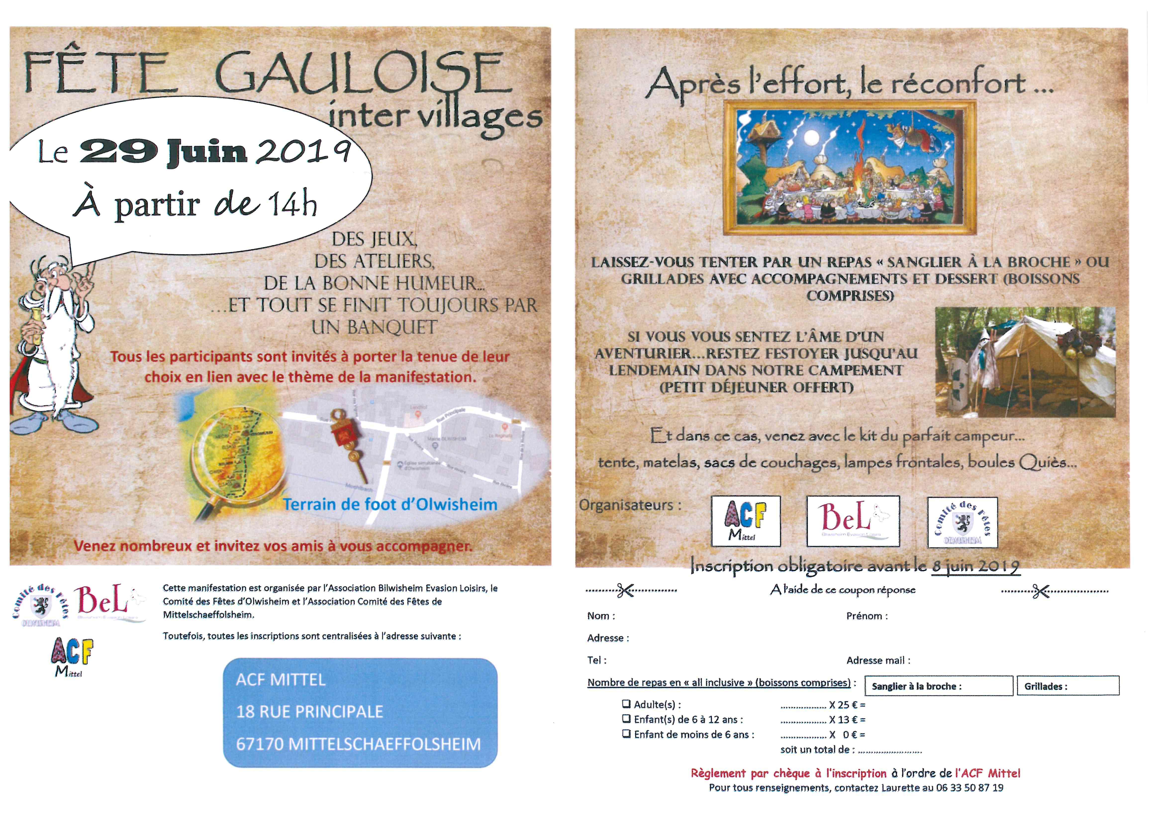 Fête Gauloise inter villages