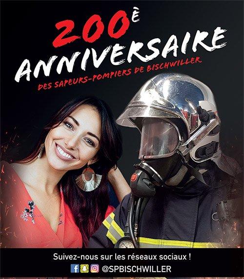200e anniversaire des pompiers de Bischwiller