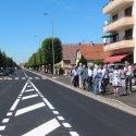 Fin des travaux de réaménagement et de sécurisation de la route de Soufflenheim