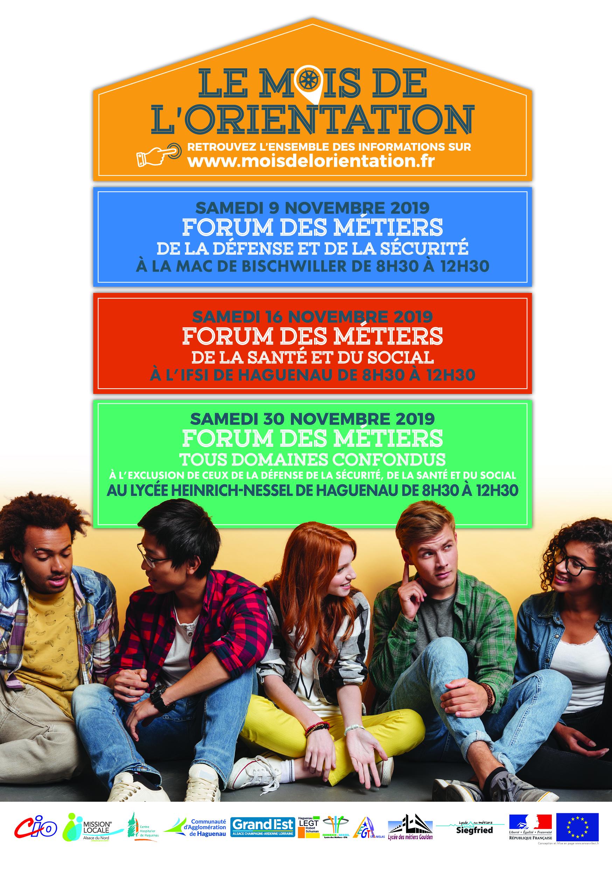Le mois de l'Orientation : Forum des métiers
