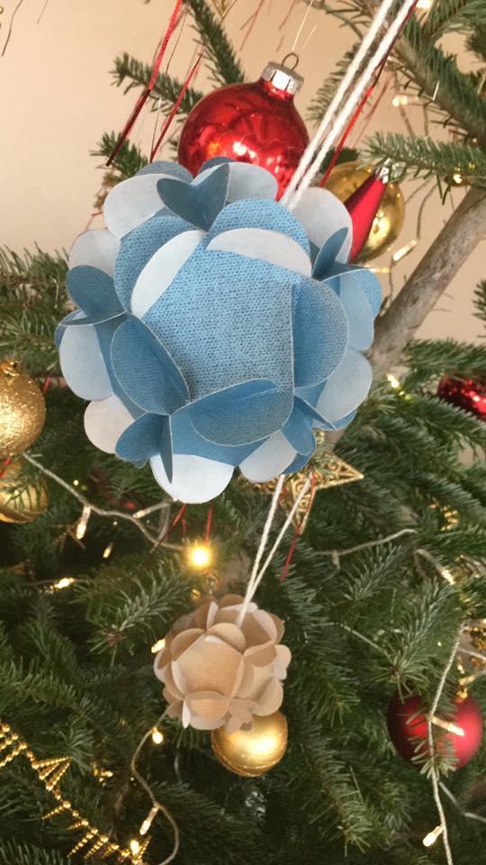 Atelier de création de boules de Noël (à partir de 7 ans)