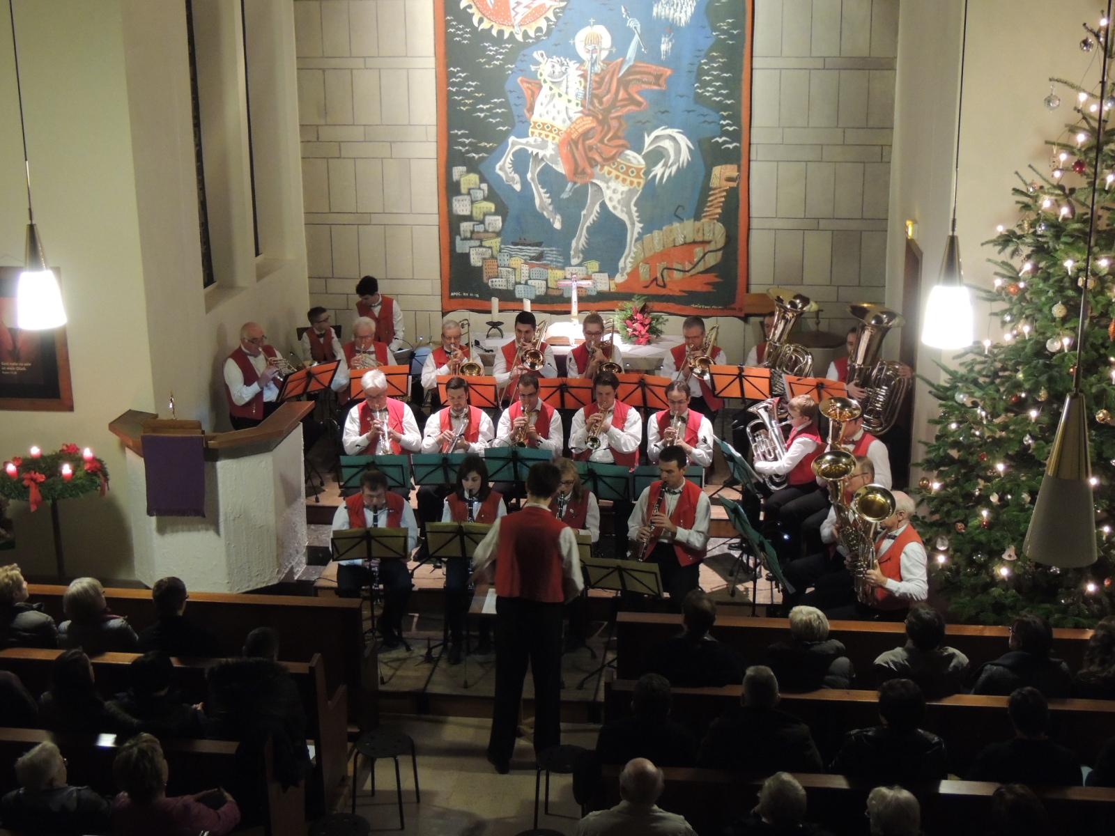 Concert de Noël de l'harmonie d'Engwiller