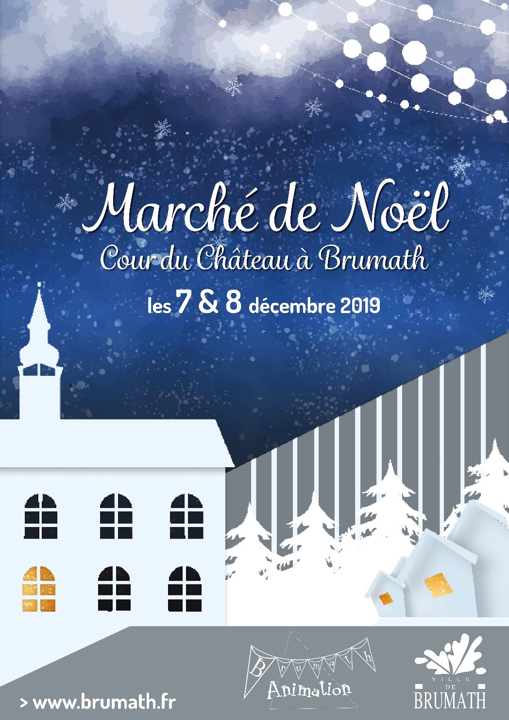 Marché de Noël à Brumath