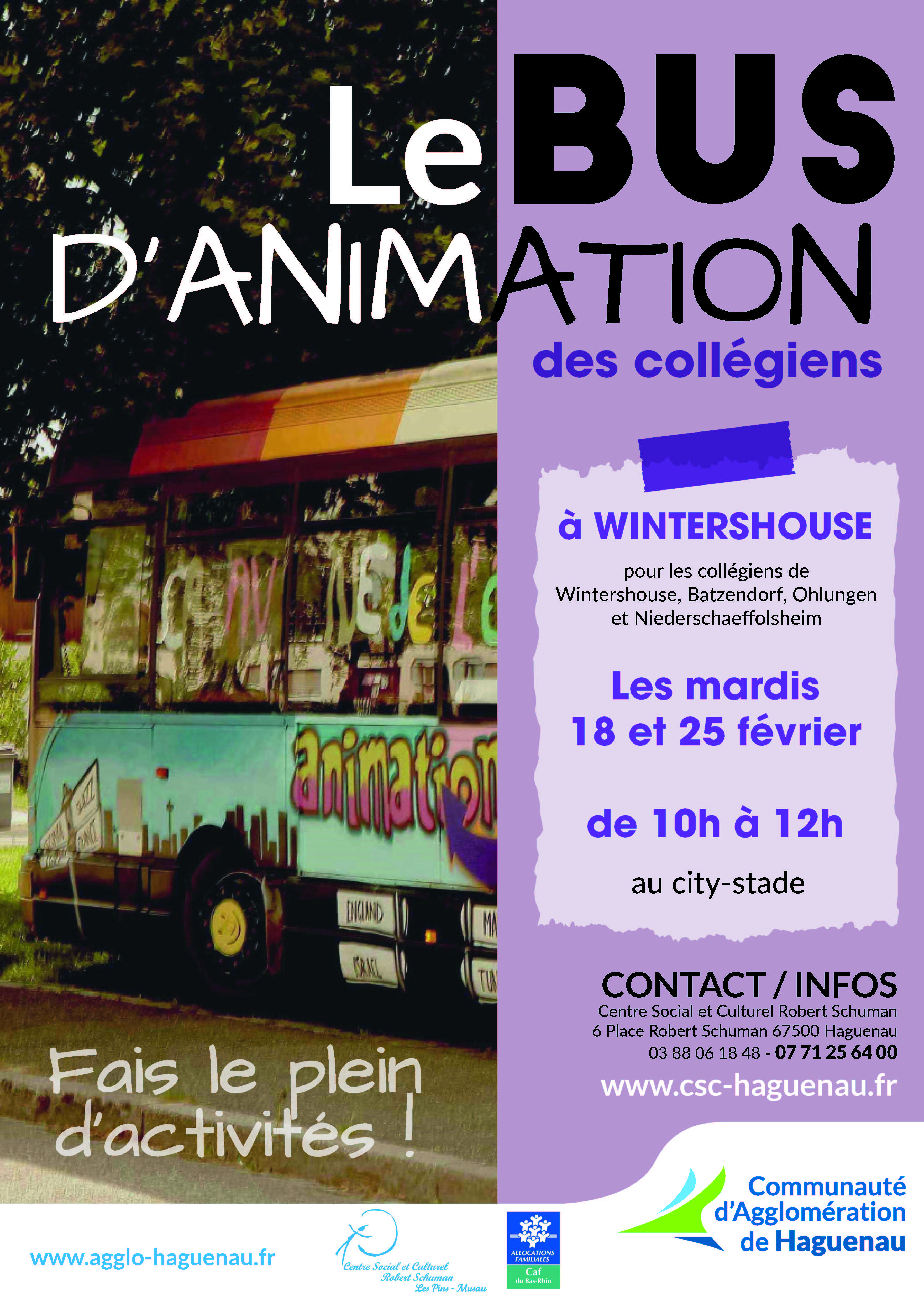 BUS D'ANIMATION à Wintershouse