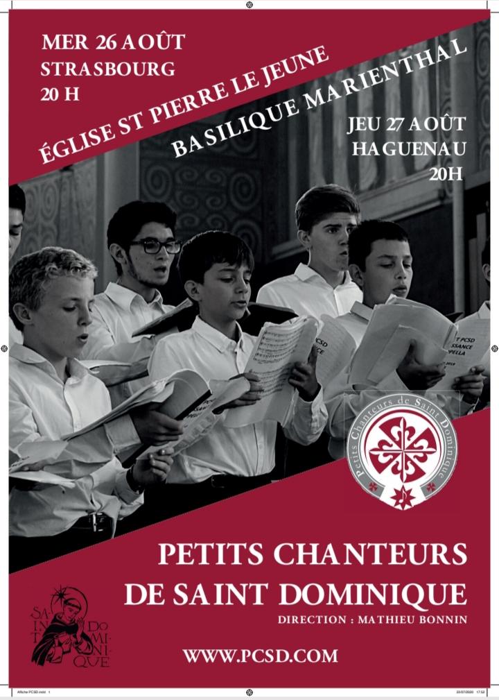 Concert des Petits Chanteurs de Saint-Dominique