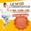 Mois de l'Orientation – Forums virtuels