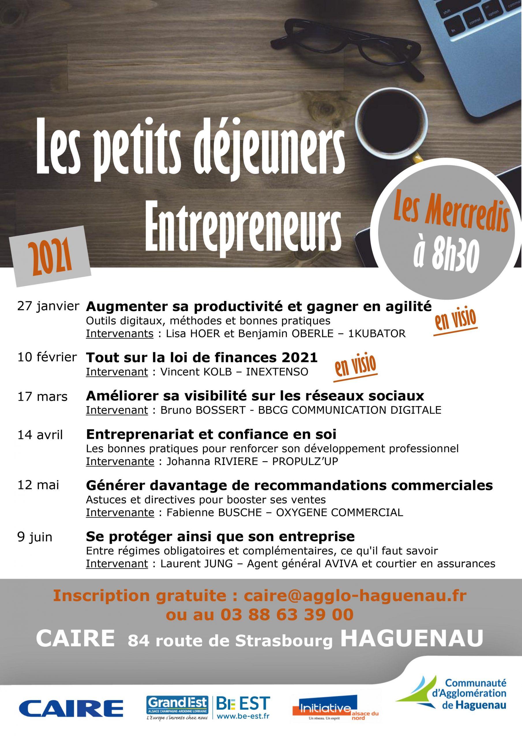 Petit déjeuner Entrepreneurs : Améliorer sa visibilité sur les réseaux sociaux