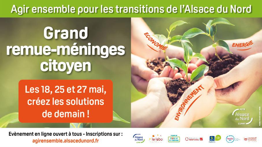 Agir ensemble pour les transitions de l'Alsace du Nord