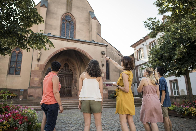 Visite insolite à travers les rues de la ville d'Haguenau