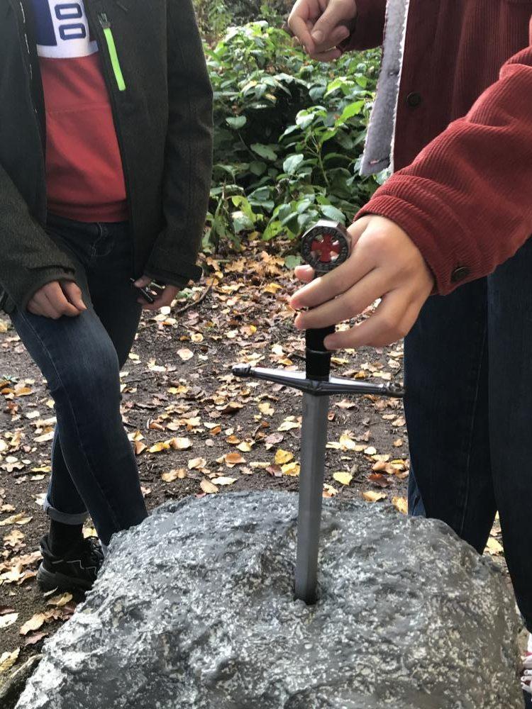Jeu de piste «L'épée sacrée de la forêt»