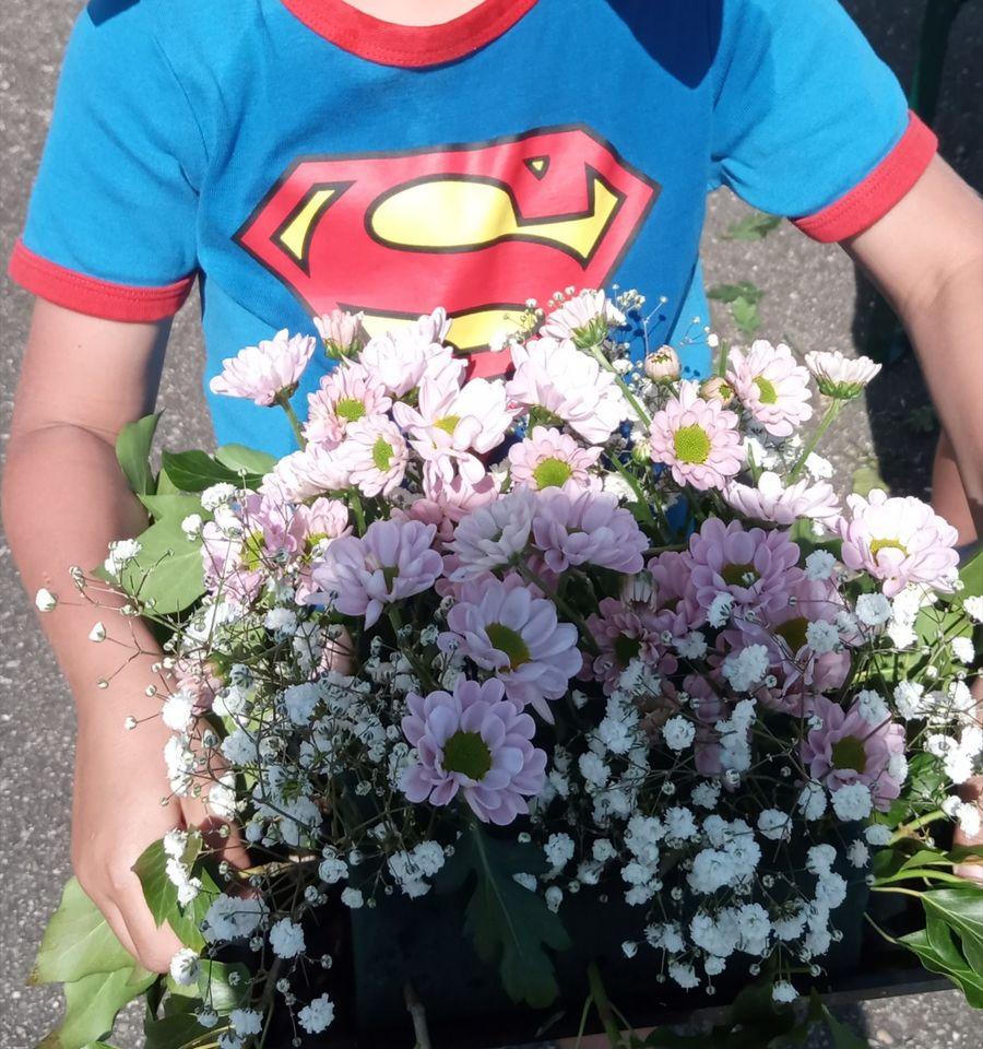 atelier floral duo parent enfant