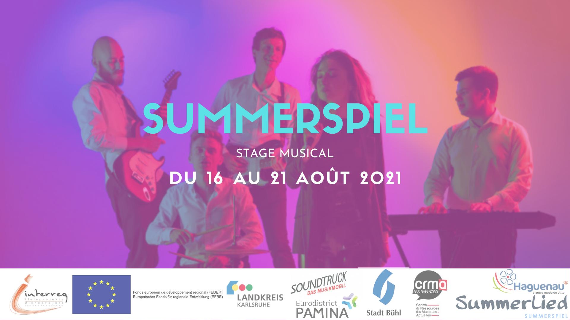 SUMMERSPIEL – Stage musical