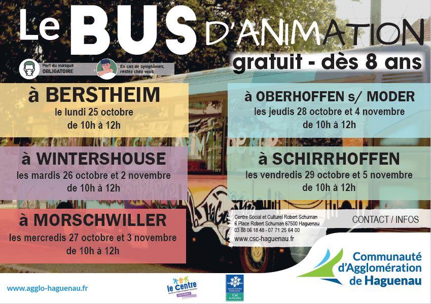 Bus d'animation